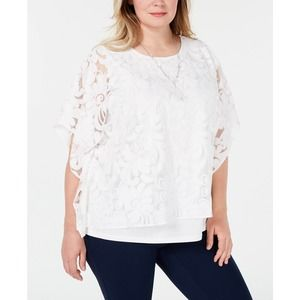 Alfred Dunner Society Pages Top White